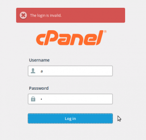 'Login invalid' error in cPanel? Here are the tips to fix this problem